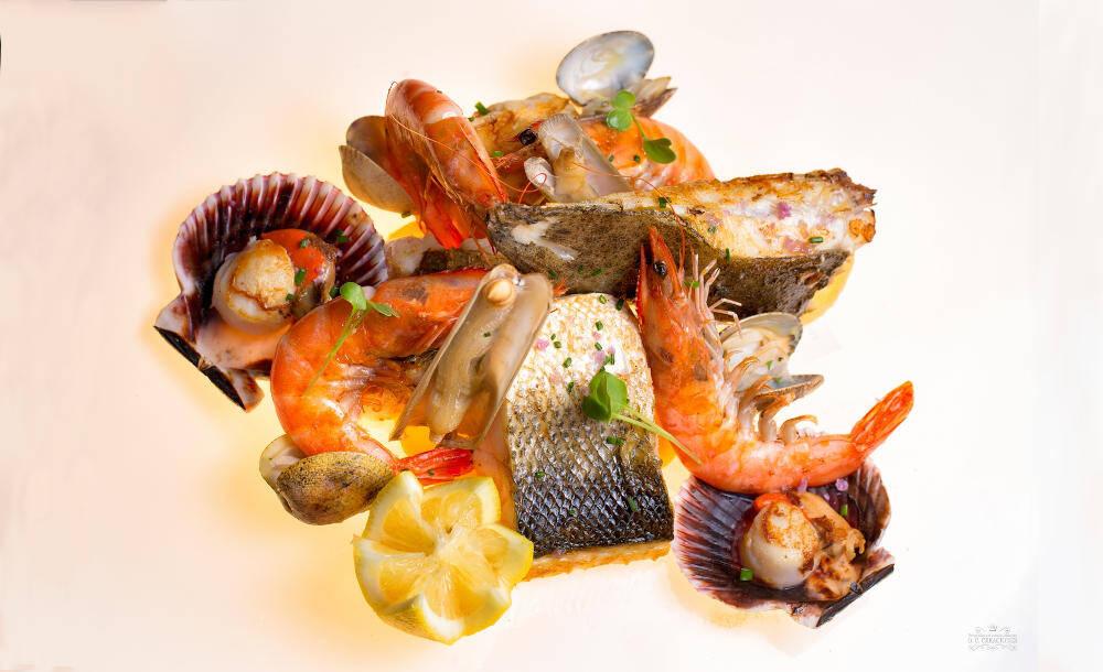 Parrillada de pescados de roca