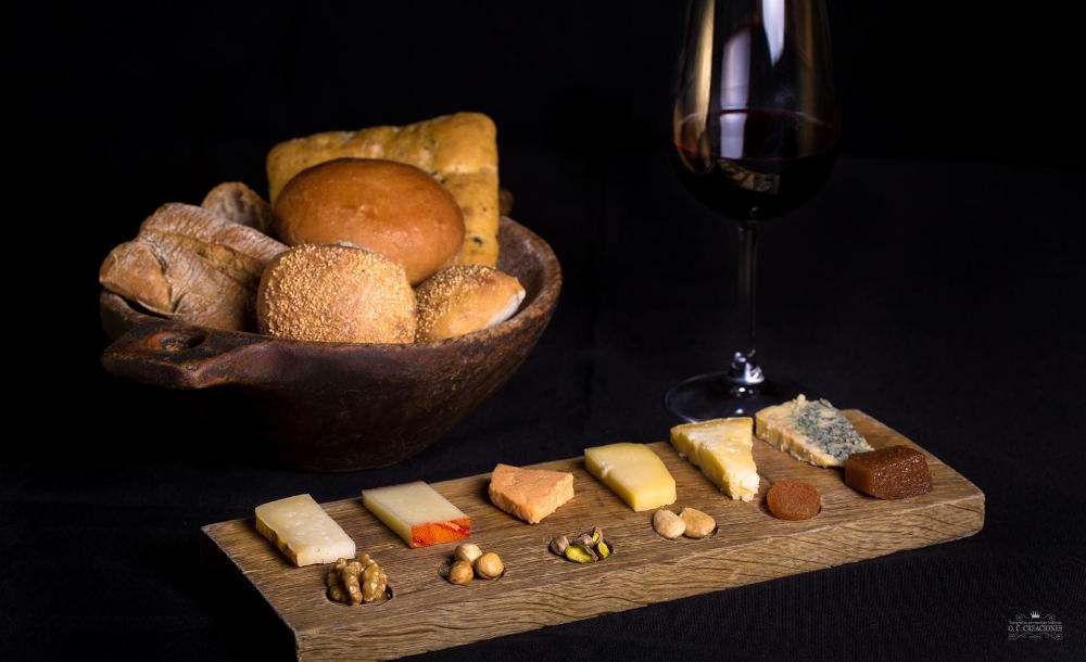 Asturian cheeses small plate