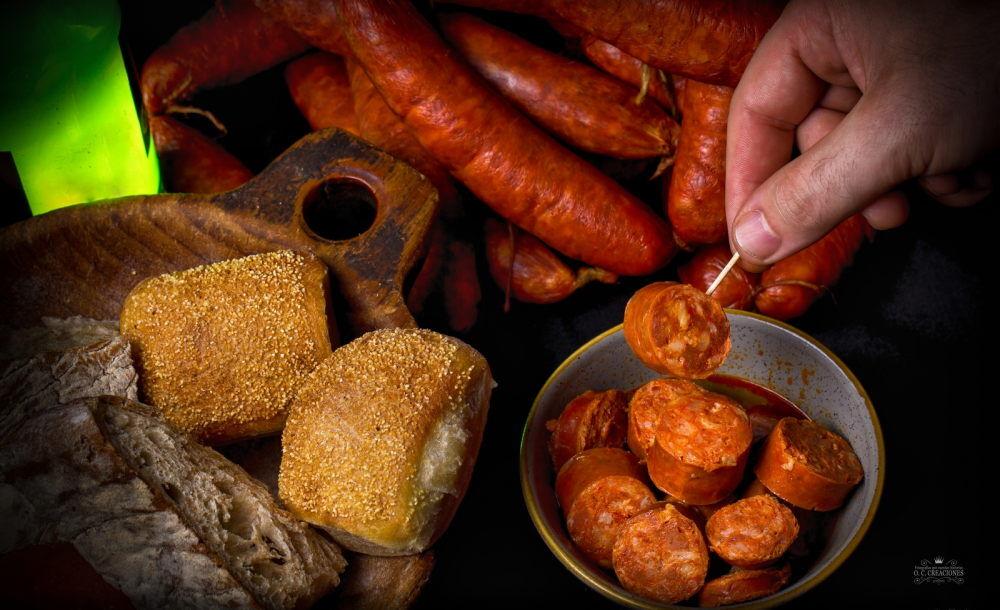 Sausage chorizo with cider