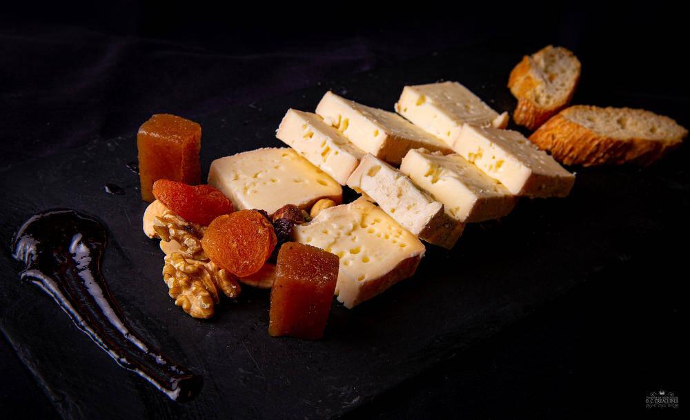 Mini tabla de quesos