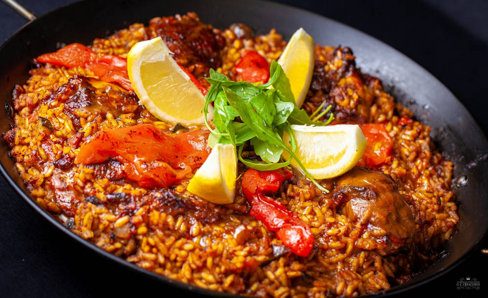 Farmer Chicken Rice Paella